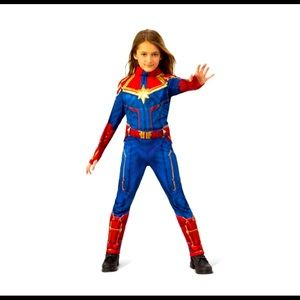 Girls' Captain Marvel costume